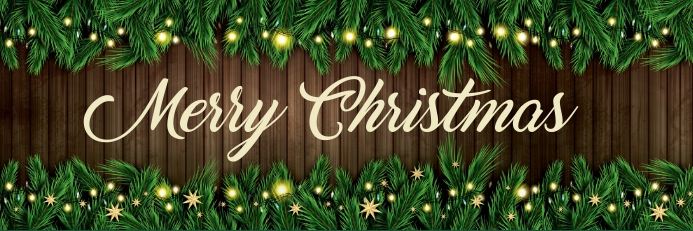 Christmas,new year,event,sale Banner 2 x 6 fod template