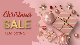 Christmas,new year,event,sale Twitter Post template