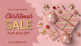 Christmas,new year,valentine En-tête de blog template