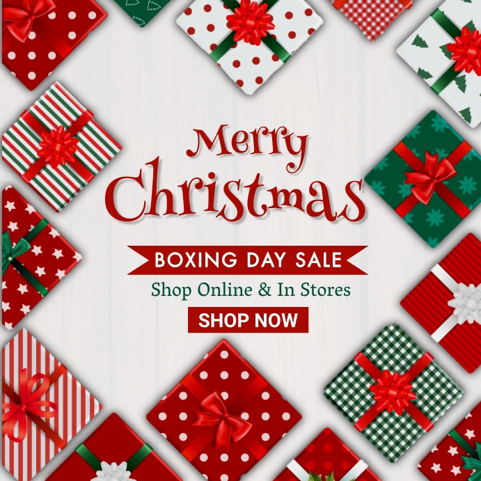 Christmas,new year,event,sale Pos Instagram template