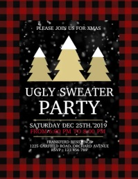 christmas,ugly sweater party, christmas video