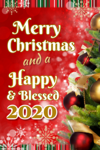 Christmas & New Year Poster
