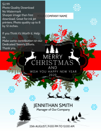 Christmas & new year template