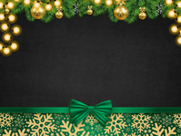 Christmas , backgrounds, zoom backgrounds Presentation template
