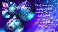 CHRISTMAS - 09 YouTube Thumbnail template