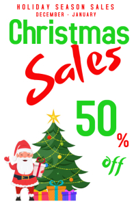 CHRISTMAS 50%