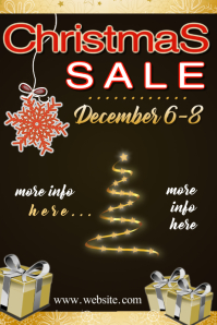 Christmas Ad Poster