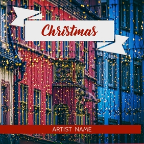 Christmas album art