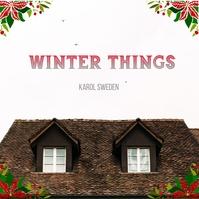 Christmas album cover 专辑封面 template