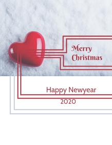Christmas and newyear doctors greetings