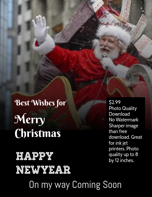 Christmas and newyear greeting card