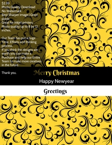 Christmas and newyear greetings