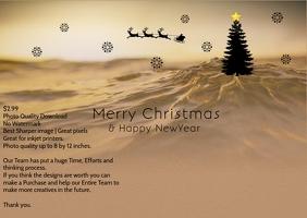 christmas and newyear postcards