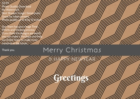 christmas and newyear poster template