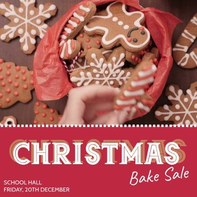 Christmas bake sale