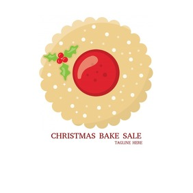Christmas Bake Sale Logo