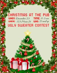Christmas Bar Flyer