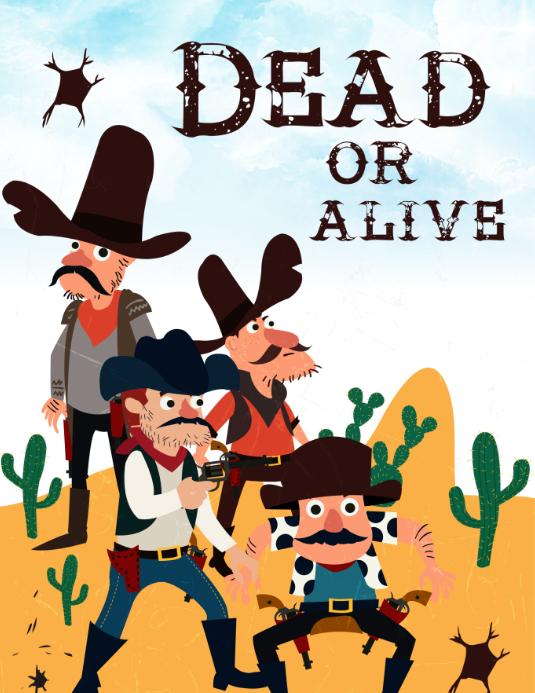 Cowboy Dead Or Alive