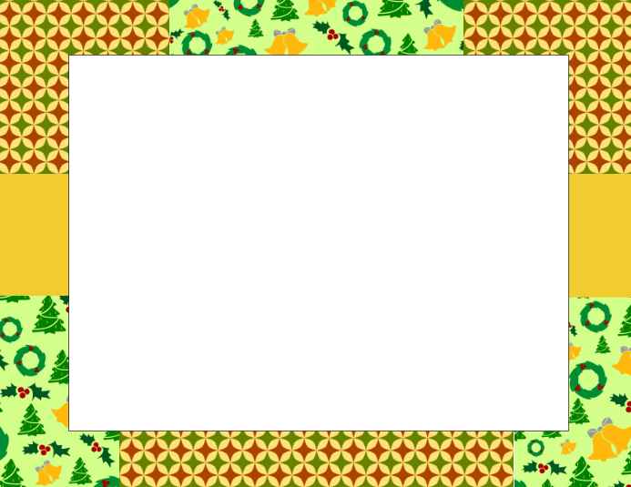 christmas border template postermywall