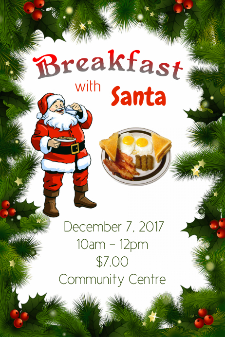 Christmas Breakfast with Santa