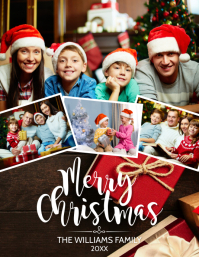 CHRISTMAS CARD Flyer (US Letter) template