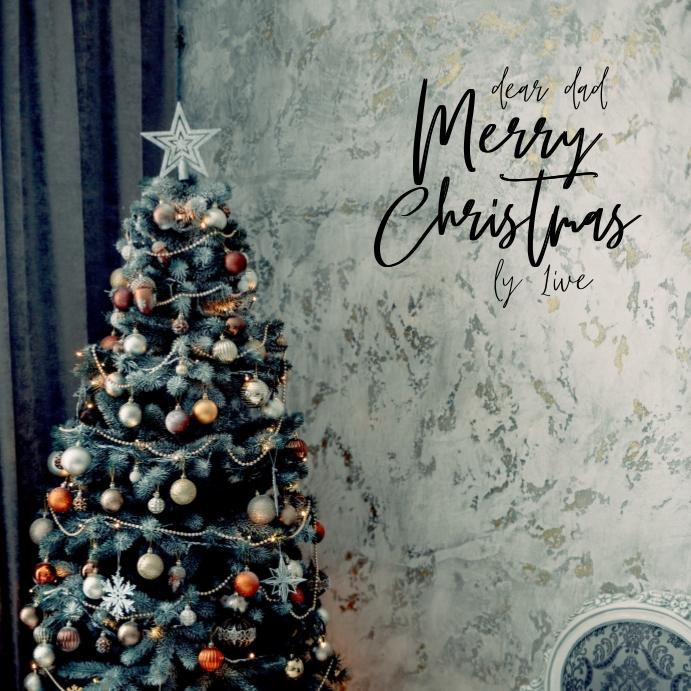 Christmas Card Cuadrado (1:1) template