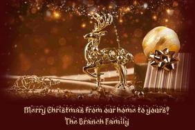 Christmas Card Flyer