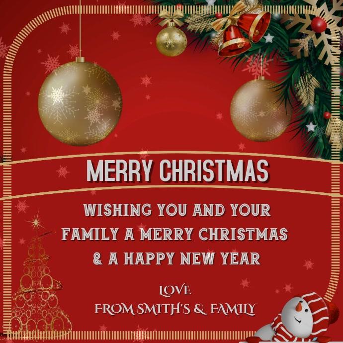 Weihnachtskarten Einladung.Weihnachtskarte Gruß Einladung Poster Flyer Diy Vorlage Postermywall