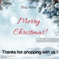 Christmas card instagram