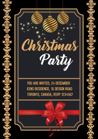 christmas card poster flyer DIY