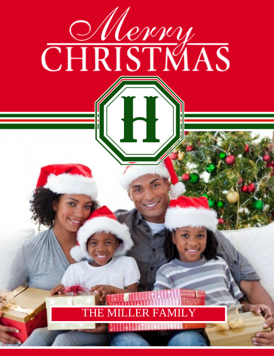 Christmas Cards Flyer (Letter pang-US) template