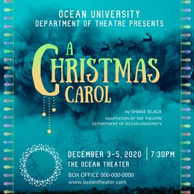 Christmas Carol Instagram Image