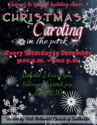 Christmas Caroling in the Park
