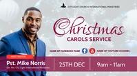 christmas carols service Tampilan Digital (16:9) template