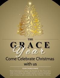 Christmas Celebration Event Flyer Template