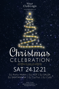 Christmas Celebration Party Event Invitation