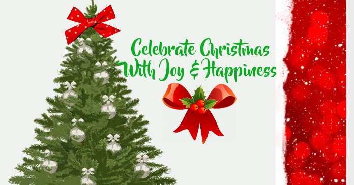 Christmas Celebration Facebook Ad template