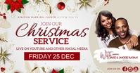 CHRISTMAS CHURCH LIVE ONLINE FROM AT HOME Imagem partilhada do Facebook template