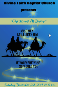 Christmas Church Program