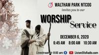 Christmas Church Service Miniatura di YouTube template