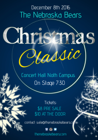 Christmas Classic Concert Poster