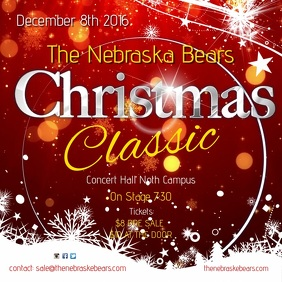 Christmas Classic Concert Template