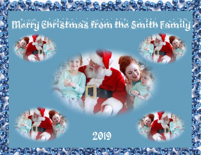 Foto Collage Di Natale.Modello Collage Di Natale Postermywall