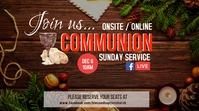 CHRISTMAS Communion Tampilan Digital (16:9) template