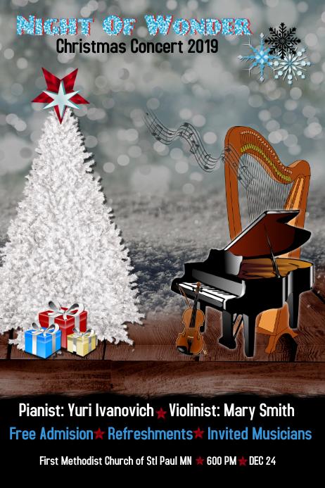 christmas concert/church/christmas program
