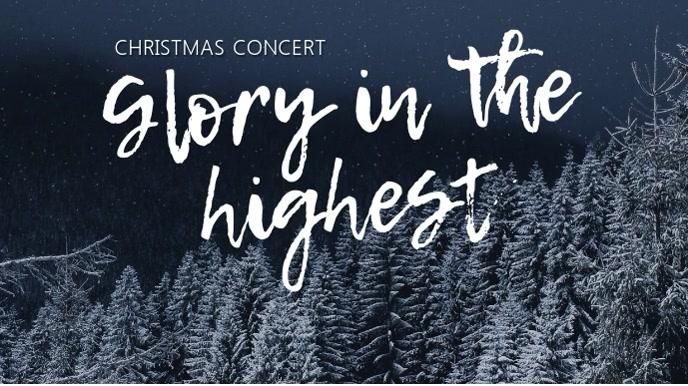 Christmas Concert 数字显示屏 (16:9) template