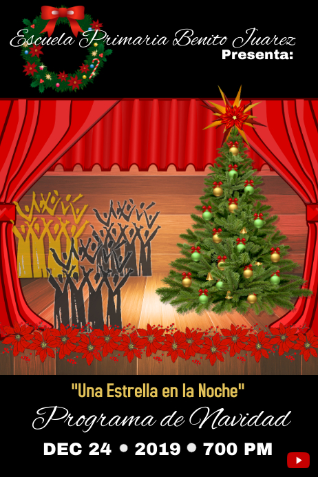 christmas concert/program/navidad/choir