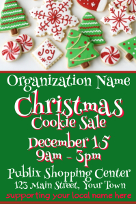 Christmas Cookie Sale