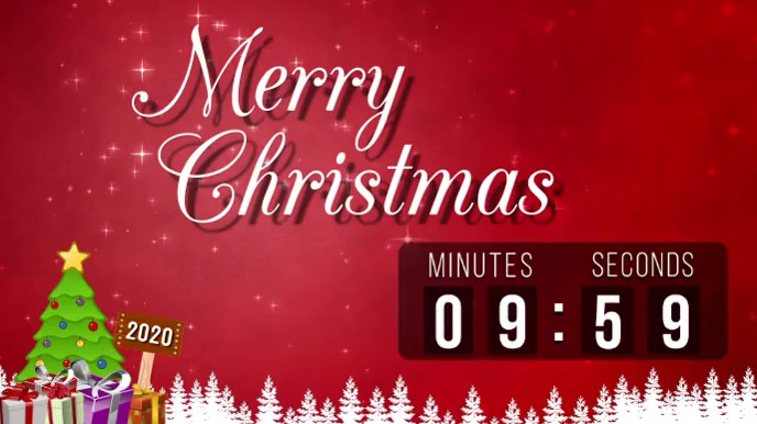 Christmas Countdown Template Postermywall