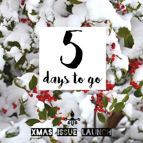 Christmas Countdown Instagram Post